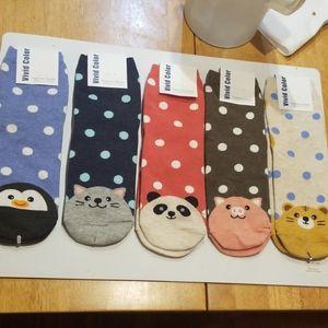 NWT Lot of 5 fashion socks